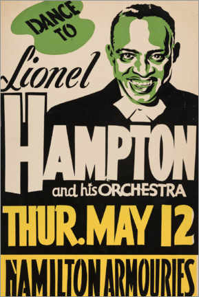 Leinwandbild  Lionel Hampton - Entertainment Collection