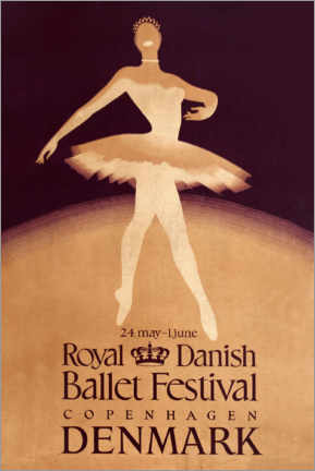 Holzbild  Royal Danish Ballet Festival - Travel Collection