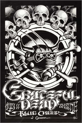 Gallery Print  Grateful Dead - Entertainment Collection