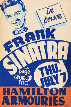 Wandsticker  Frank Sinatra - Advertising Collection