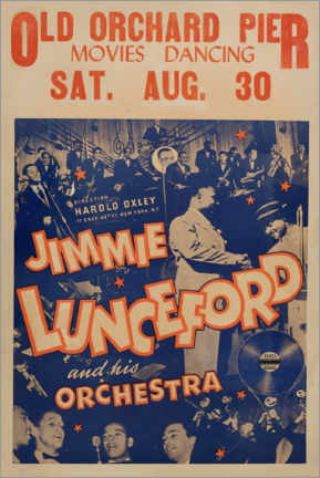 Acrylglasbild  Jimmie Lunceford - Advertising Collection
