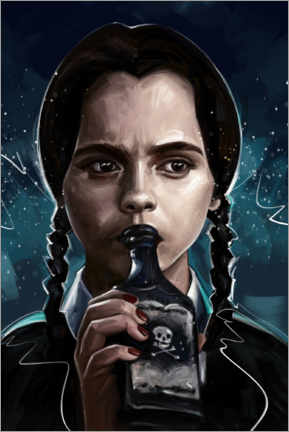Premium-Poster Wednesday Addams