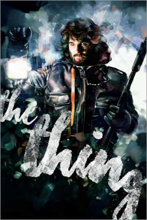 Premium-Poster The Thing