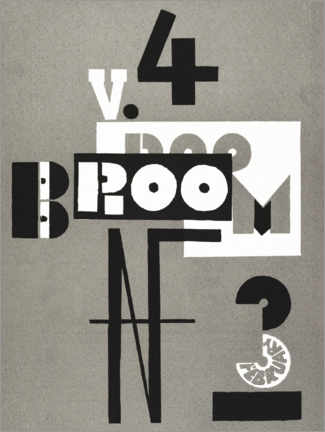 Gallery Print  Cover of Broom - El Lissitzky