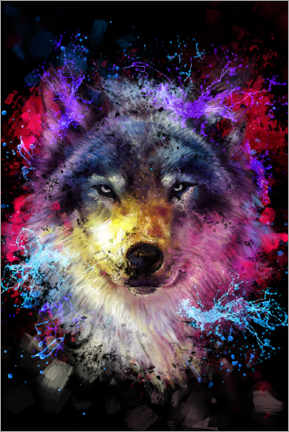 Premium-Poster  Wolf - Dmitry Belov