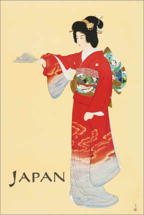 Premium-Poster  Japan - Travel Collection