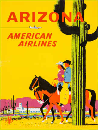 Premium-Poster  Arizona - Travel Collection