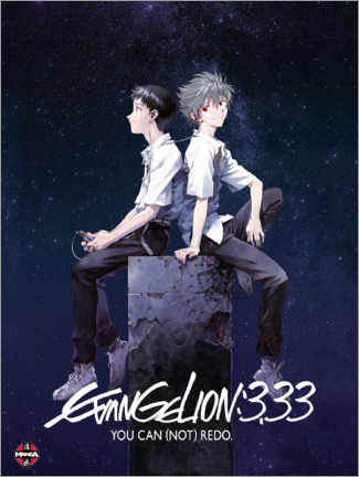 Leinwandbild  Neon Genesis Evangelion 3.33 - Entertainment Collection