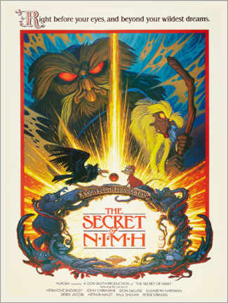 Premium-Poster  The Secret of NIMH - Entertainment Collection