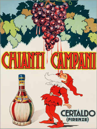 Leinwandbild  Chianti Campani - Advertising Collection