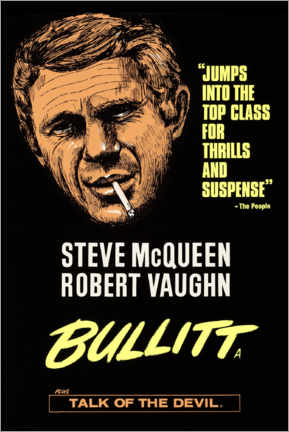 Premium-Poster  Bullitt - Entertainment Collection