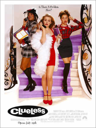 Premium-Poster  Clueless (Englisch) - Entertainment Collection