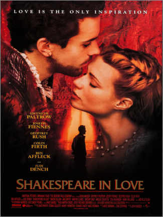 Premium-Poster Shakespeare in Love
