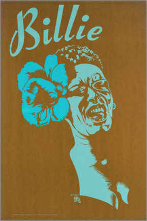 Premium-Poster  Billie Holiday - Entertainment Collection