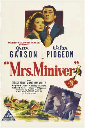 Premium-Poster  Mrs. Miniver - Entertainment Collection