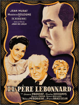 Premium-Poster  Le Père Lebonnard - Entertainment Collection