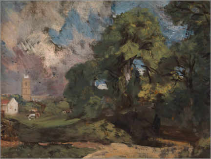 Gallery Print  Stoke bei Nayland - John Constable