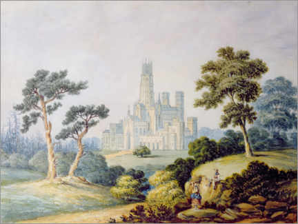 Premium-Poster  Fonthill Abbey - Francis Danby