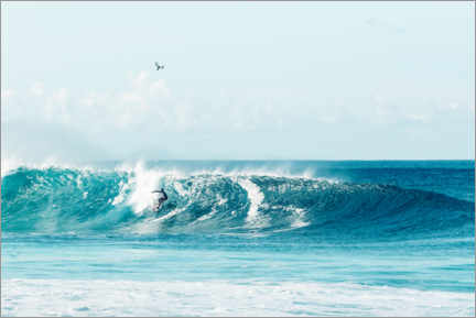 Gallery Print  Surfer auf Hawaii - Road To Aloha