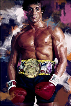 Gallery Print  Rocky Balboa - Dmitry Belov