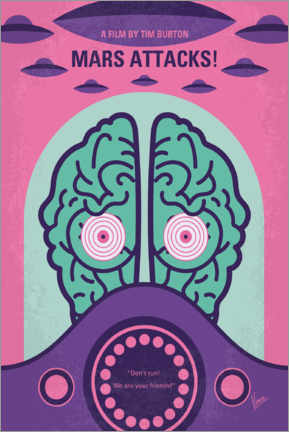 Gallery Print  Mars Attacks - chungkong