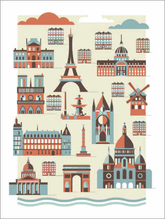 Gallery Print  Paris - Thomas Marutschke