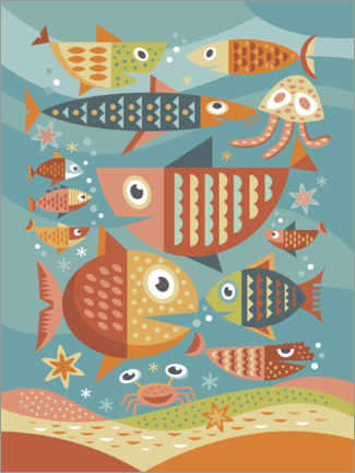 Gallery Print  Aquarium - Thomas Marutschke