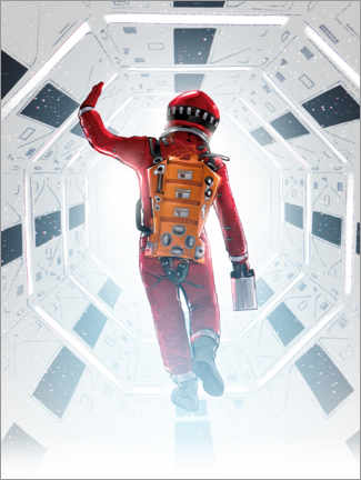 Premium-Poster 2001 A Space Odyssey