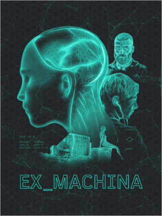Hartschaumbild  Ex Machina - The Usher designs