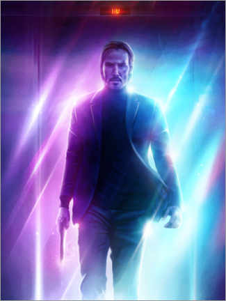 Acrylglasbild  John Wick - The Usher designs