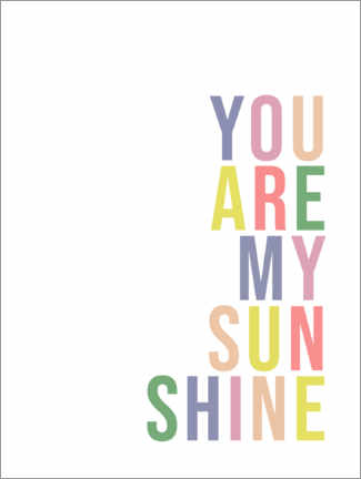 Premium-Poster  You are my sunshine - Finlay and Noa