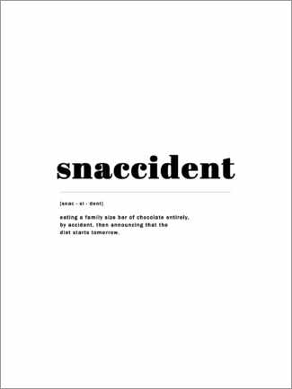 Premium-Poster  Snaccident - Finlay and Noa