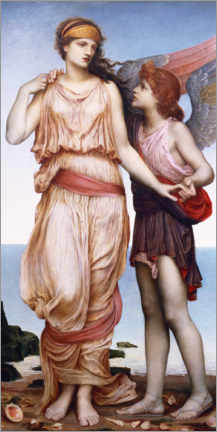 Gallery Print  Venus und Amor - Evelyn De Morgan