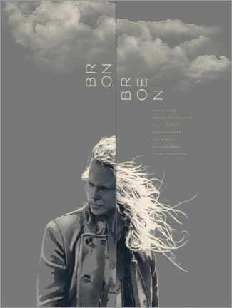 Premium-Poster Bron/Broen - the bridge