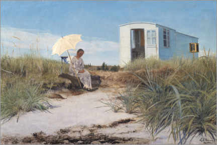 Acrylglasbild  Am Strand - Laurits Andersen Ring