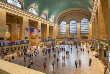 Leinwandbild  Grand Central Terminal - Jan Christopher Becke