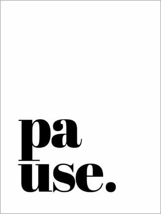 Wandsticker  Pause - Finlay and Noa