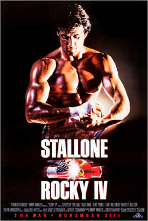 Premium-Poster  Rocky IV - Entertainment Collection