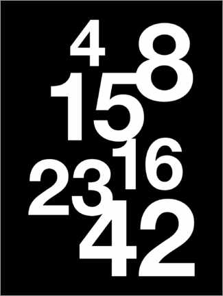 Gallery Print  Lost-Numbers - Michael Tarassow