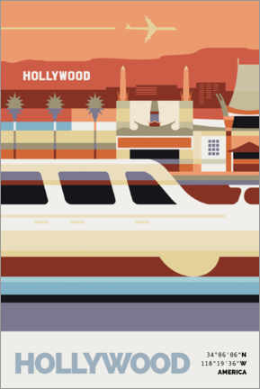 Premium-Poster Hollywood