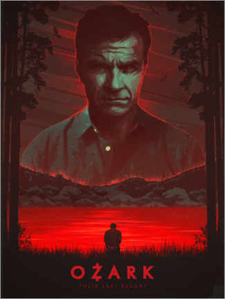 Premium-Poster  Ozark - The Usher designs