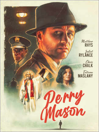 Premium-Poster  Perry Mason - The Usher designs