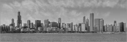Premium-Poster Chicago Skyline