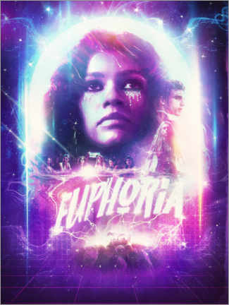 Premium-Poster  Euphoria - The Usher designs