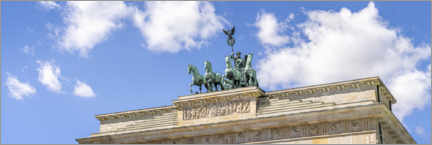 Acrylglasbild  Quadriga Statue am Brandenburger Tor - Jan Christopher Becke