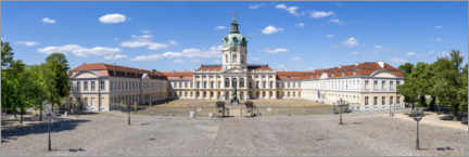 Gallery Print  Schloss Charlottenburg Panorama - Jan Christopher Becke