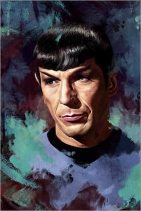 Premium-Poster  Spock - Dmitry Belov