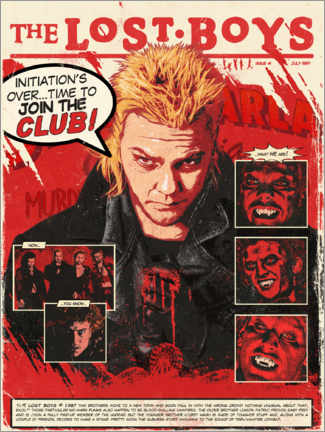 Wandsticker  The Lost Boys - The Usher designs