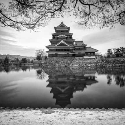 Leinwandbild  Burg Matsumoto in Japan - Jan Christopher Becke
