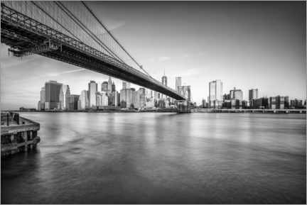 Alubild  Brooklyn Bridge - Jan Christopher Becke
